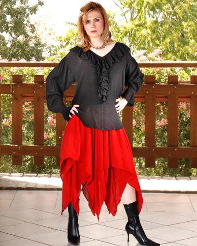 Pirate costume pirate skirt red costume-pdc1020redupc0medieval piratesred skirt;C1020  sc 1 st  Pirates! & Pirate costume: pirate skirt red costume-pdc1020redupc:0medieval ...