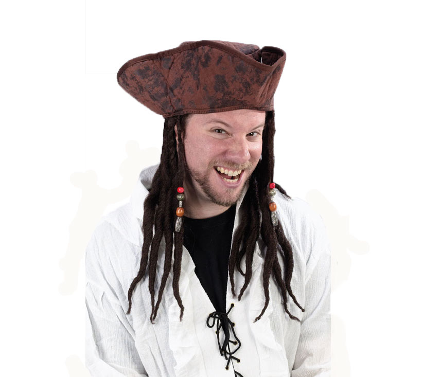 63ed14df822 accessories  buccaneer hat with dread and beads